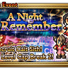 Global event banner for A Night to Remember.