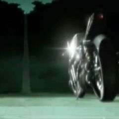 Shinra Motorcycle in <i>Last Order</i>.