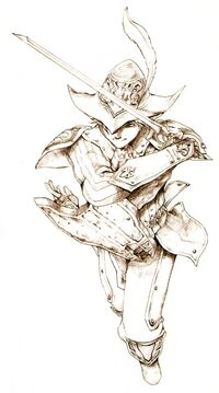 Red Mage FFXI Ikeda Art