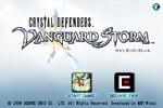 Vanguard Storm Title Menu