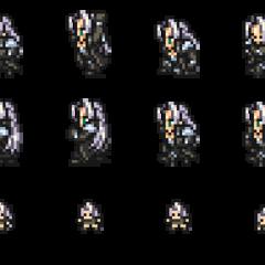 Set of Sephiroth's sprites.