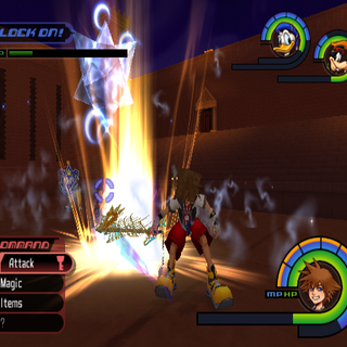 Rough Divide in <i>Kingdom Hearts</i>.