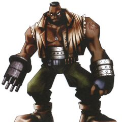 Barret concept art.