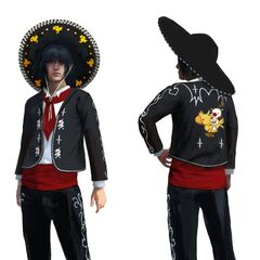 Carnival outfit for Season Pass holders.