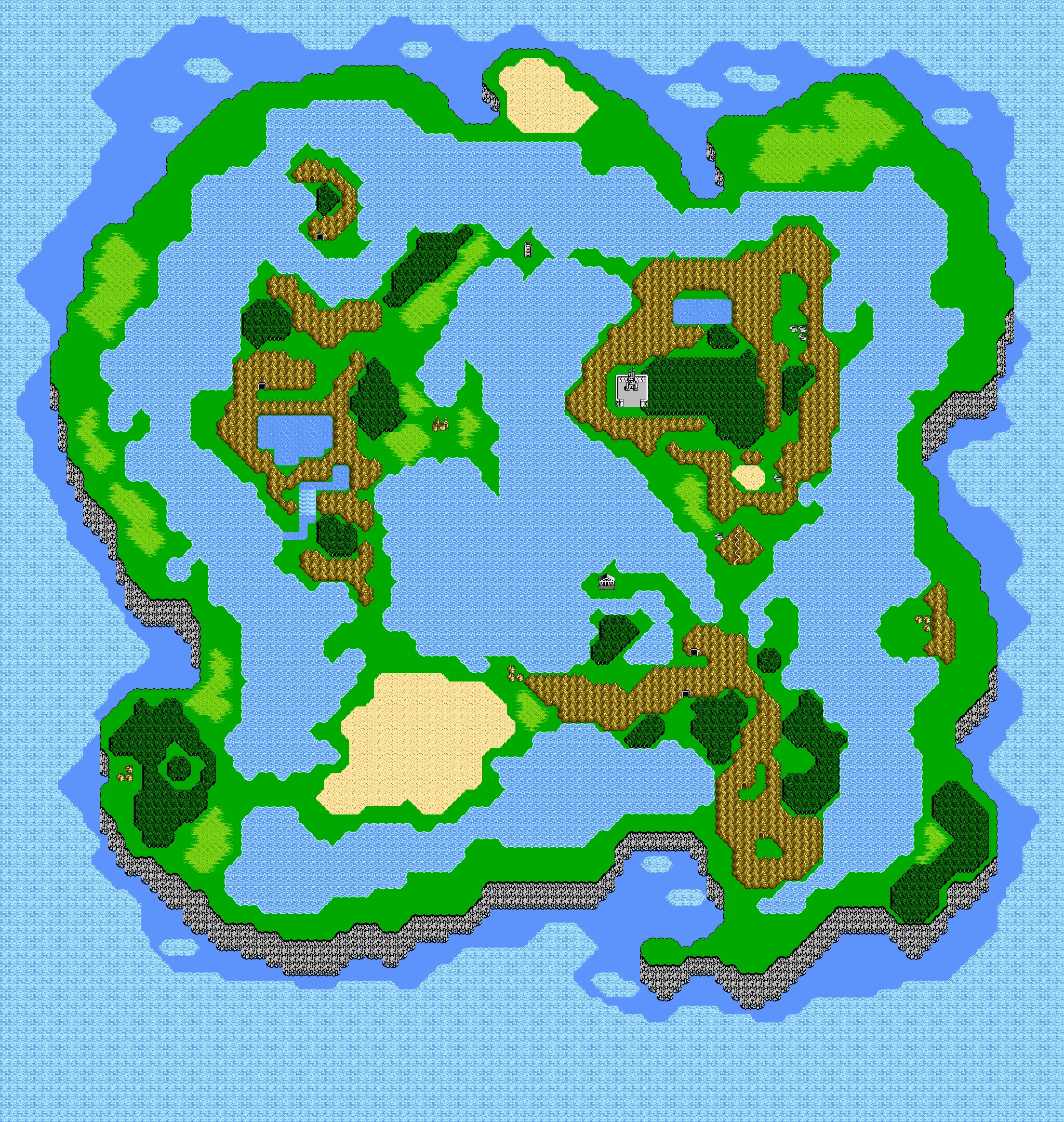 Ff3 World Map   DULCINEIA 38