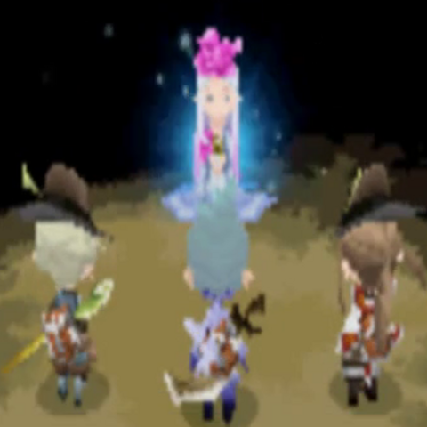 Ariadne speaking with the party.