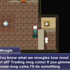 Mog Coin Reward Vendor.