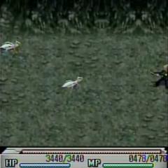 Mt. Nibel battle in <i>Before Crisis -Final Fantasy VII-</i>..