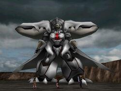 Diamond Weapon in Battle