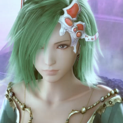 Rydia in <i>Final Fantasy IV: The After Years</i> (PSP).