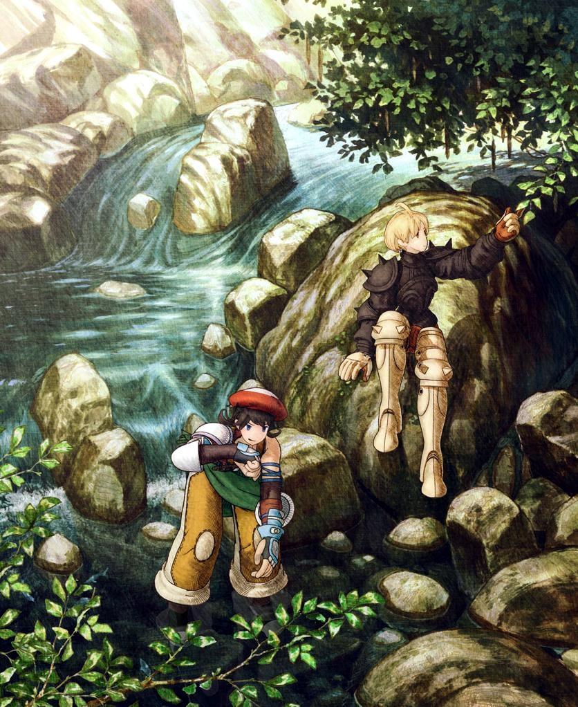 Hd Final Fantasy Wallpaper: Image - Luso And Ramza.jpg