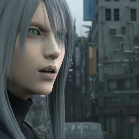 Yazoo in <i>Final Fantasy VII: Advent Children</i>.