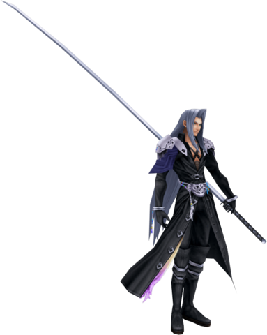 File:Dissidia Sephiroth Default Costume CG.png