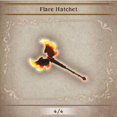 Flare Hatchet in <i><a href=