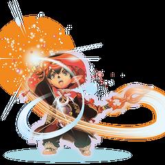 Concept artwork of a male Tarutaru Geomancer.