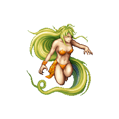 Barbariccia as she appears in <i>Final Fantasy</i> and <i>Final Fantasy IV: Complete Collection</i>.
