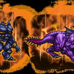 Ultimate Iron Giant & Behemoth.