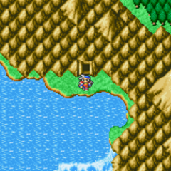 Semitt Falls on the World Map (GBA).