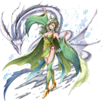 FFLTnS Rydia Artwork