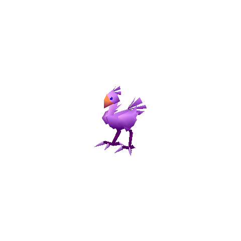 Purple chocobo.