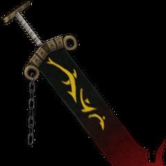 Jecht's sword in his original alt outfit.