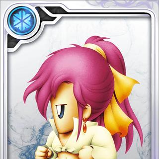 Faris's Dancer card (N rarity).