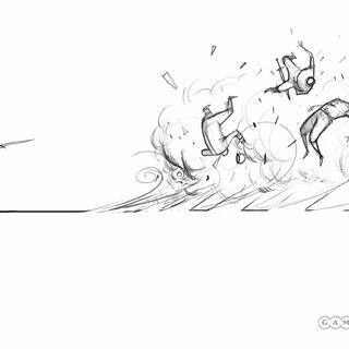Wind attack.