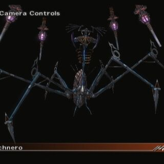 Front-view of Arachnero's in game model.