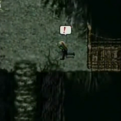 Mt. Nibel peak in <i>Before Crisis -Final Fantasy VII-</i>.