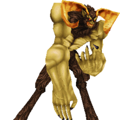 Ifrit's 3D Model.