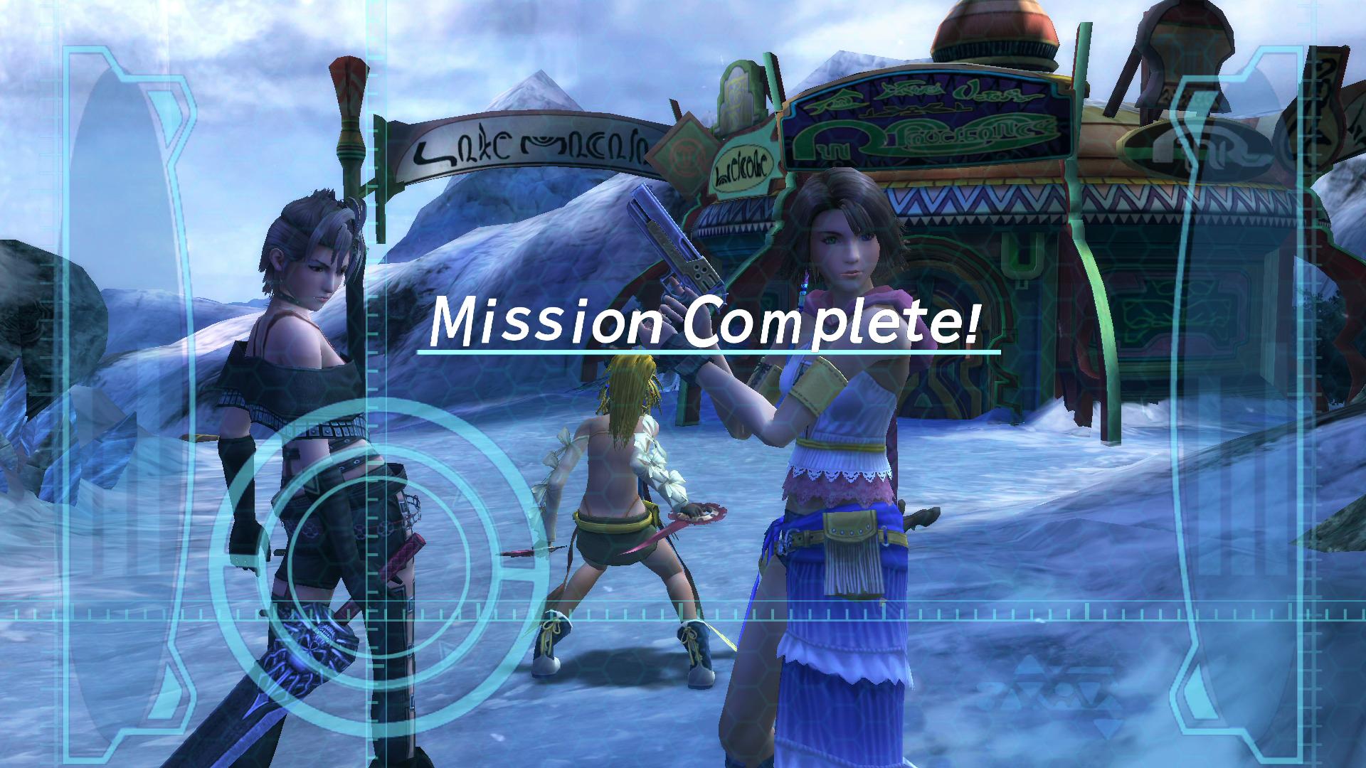 Image result for ffx-2 mission start