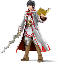Super Smash Bros 4 Robin White Mage Alt
