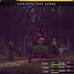 Lord Ochu Falls Asleep.