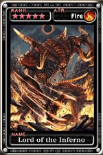 FFXIV Lord of Inferno Guardian Cross card