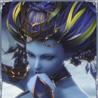 Shiva in <i>Final Fantasy Brave Exvius</i>.