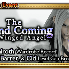 Global event banner for The Second Coming.