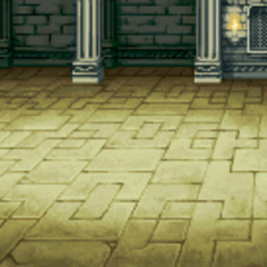 Castle interior battle background (GBA).