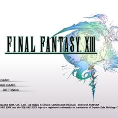 <i>Final Fantasy XIII</i> (PC).