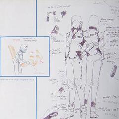 Aki's suit concept.