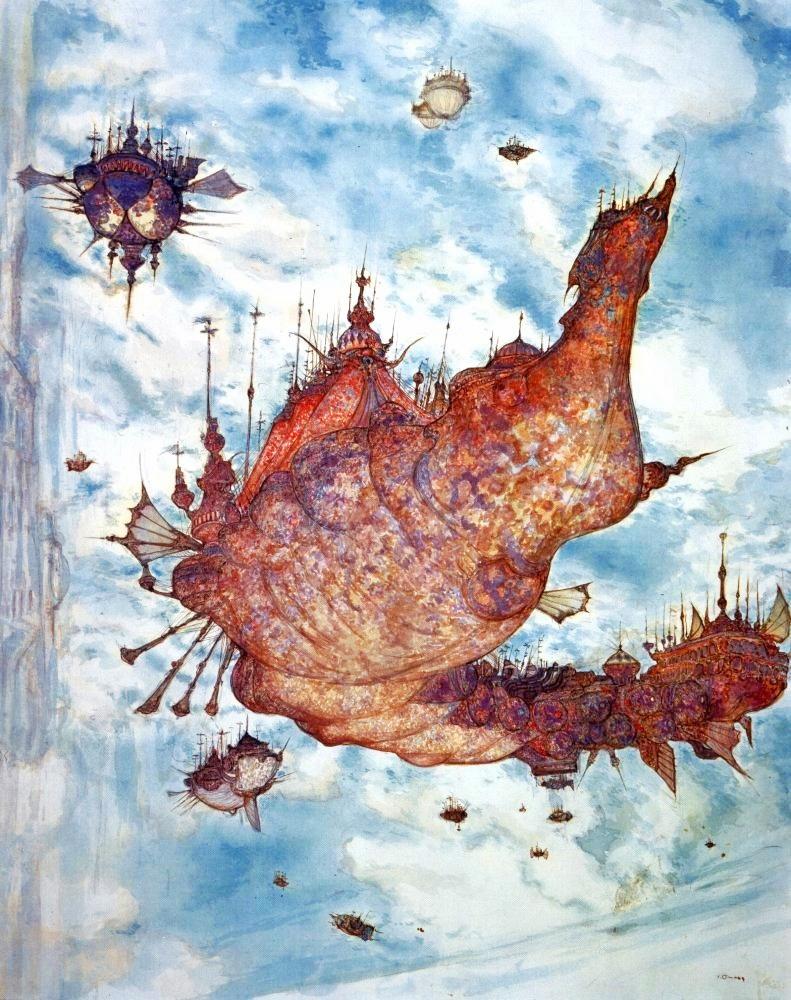 Final Fantasy x Artwork Landscape Artwork From Final
