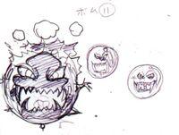 Bomb Amano Sketch 2012