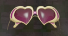 LRFFXIII Heart Glasses