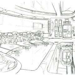 Lunatic Pandora Laboratory Control Room.
