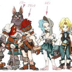 Members of Tantalus.