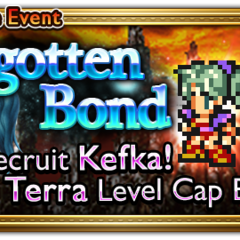 Global event banner for Forgotten Bond.