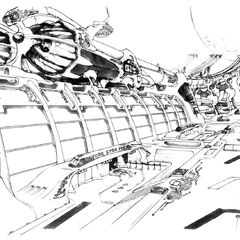 Concept art of the facility.