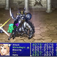 Cross Slash Prime in <i>Final Fantasy IV: The Complete Collection</i>.