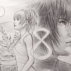 Luna and Noctis, release date countdown artwork for social media.