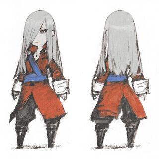 Concept art of the Adventurer unmasked.