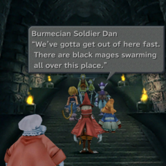Retreating Burmecian soldiers